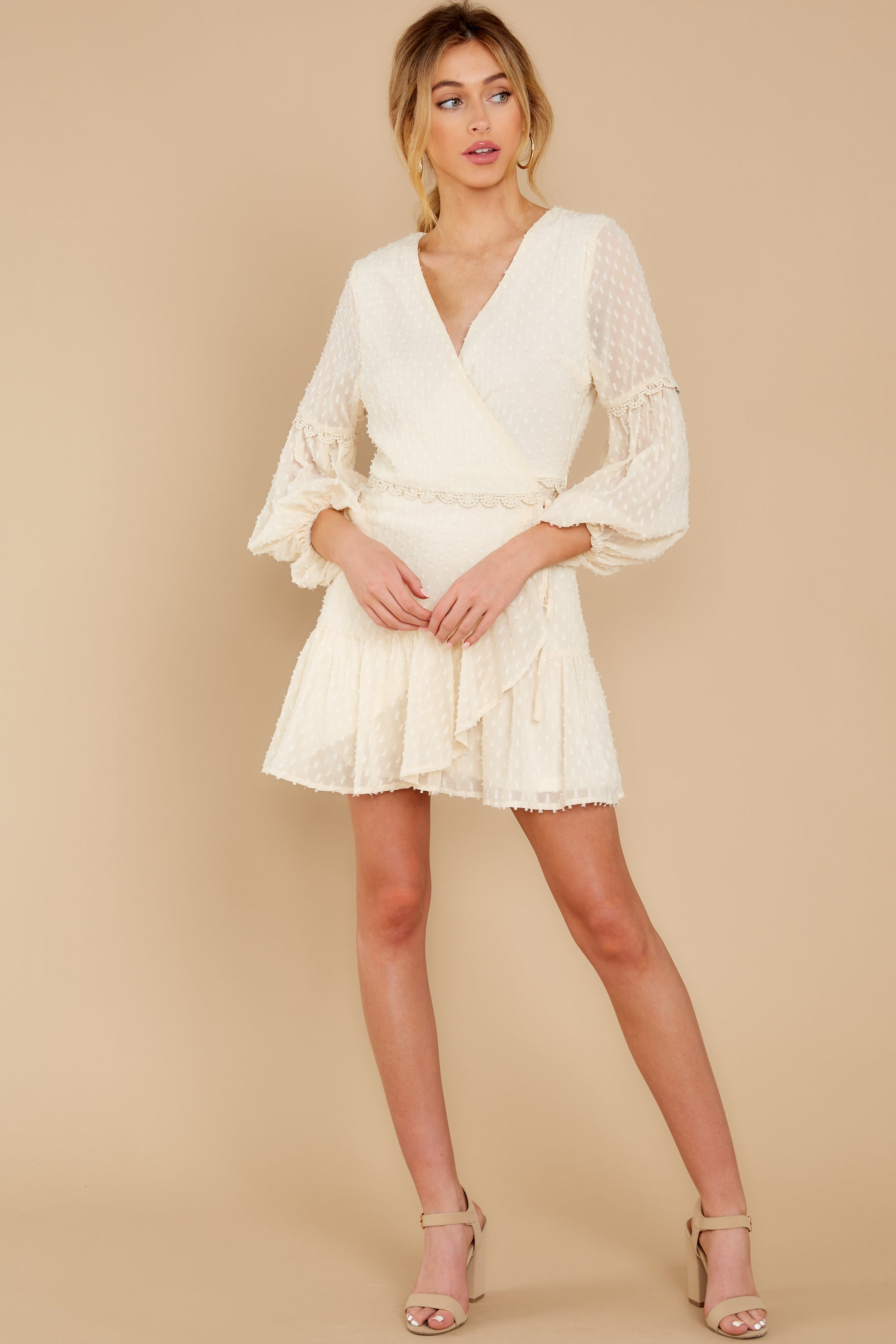 3 You're My Everything Ivory Dress at reddress.com
