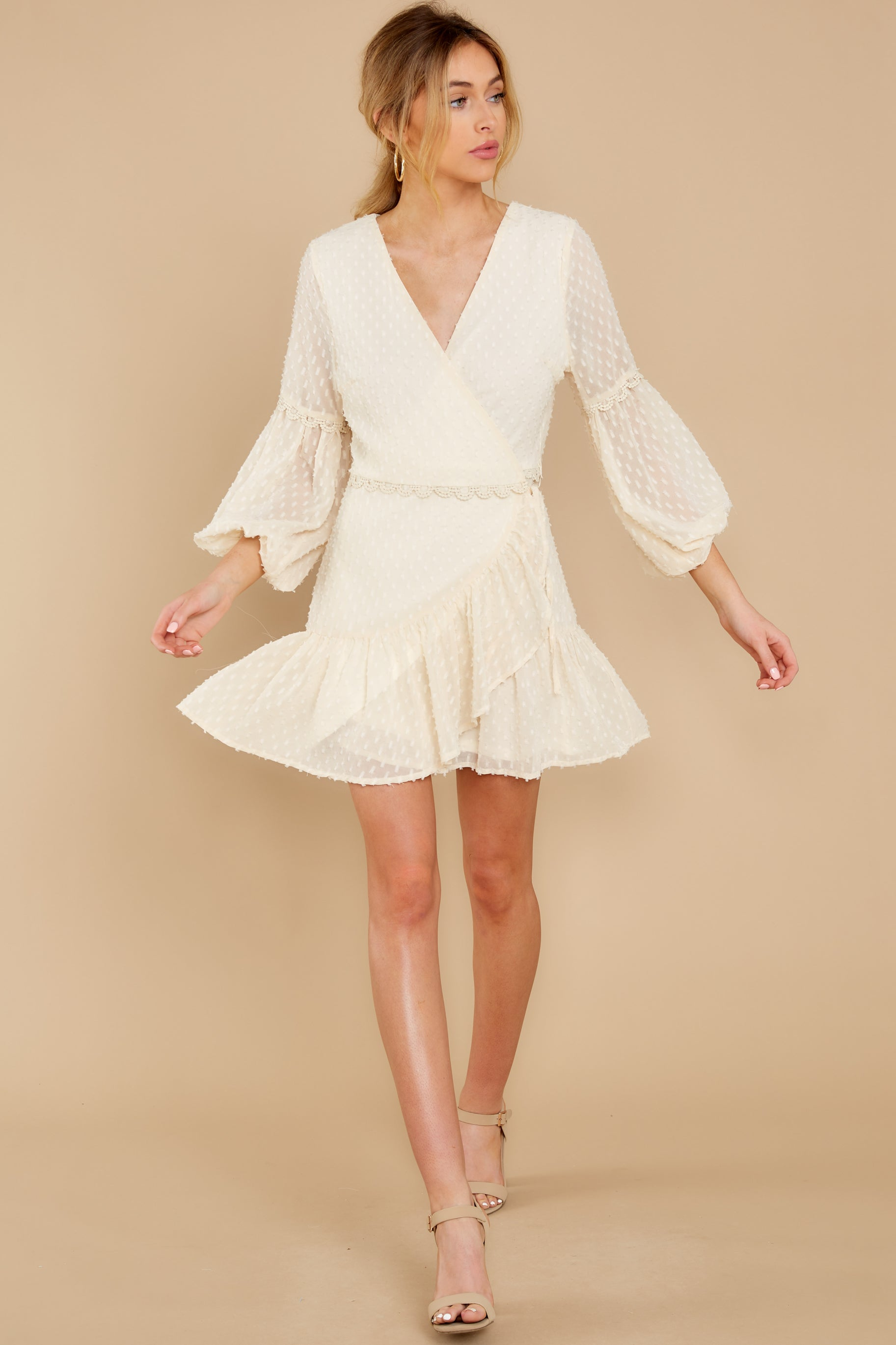 5 You're My Everything Ivory Dress at reddress.com