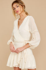 6 You're My Everything Ivory Dress at reddress.com