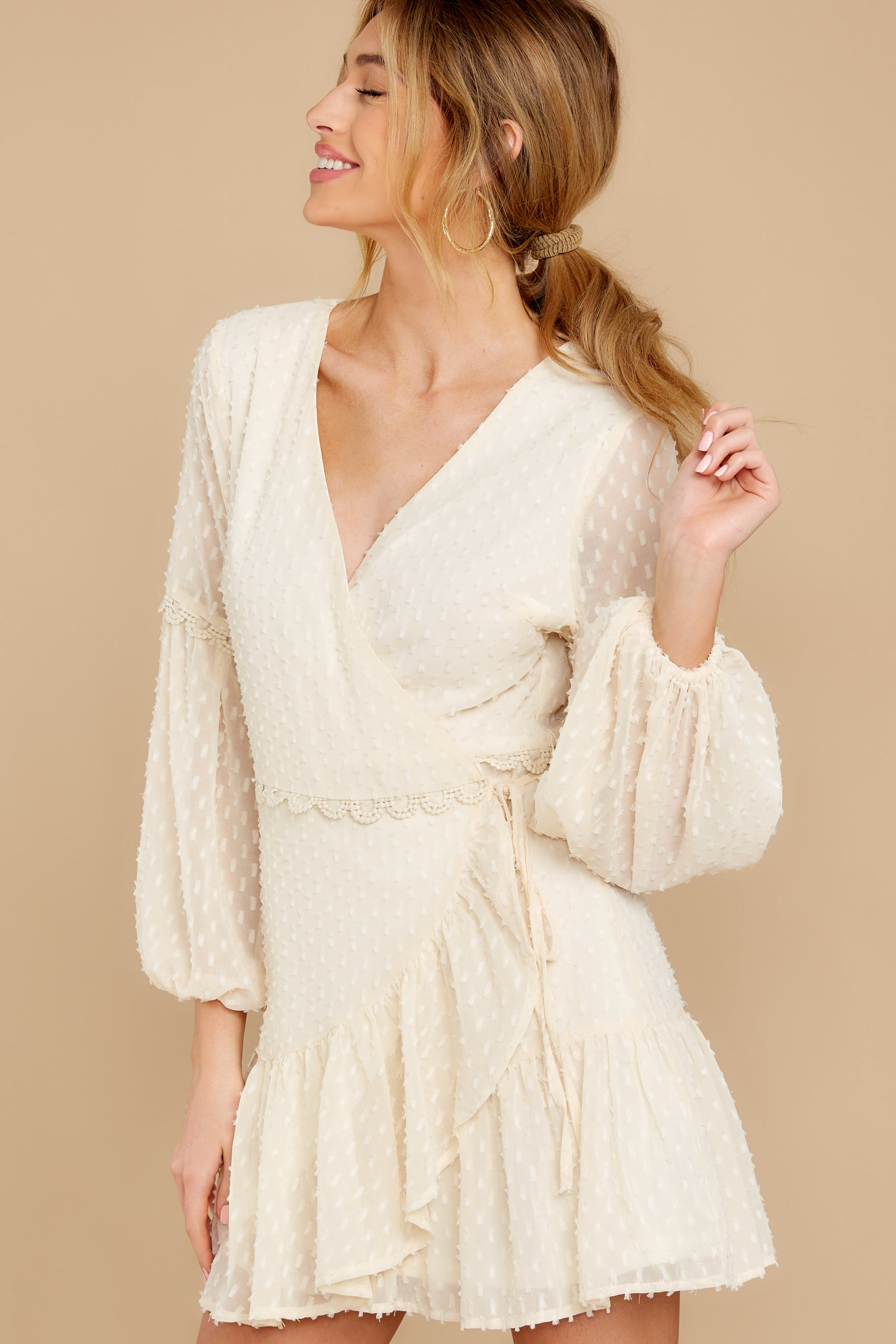8 You're My Everything Ivory Dress at reddress.com