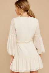 9 You're My Everything Ivory Dress at reddress.com