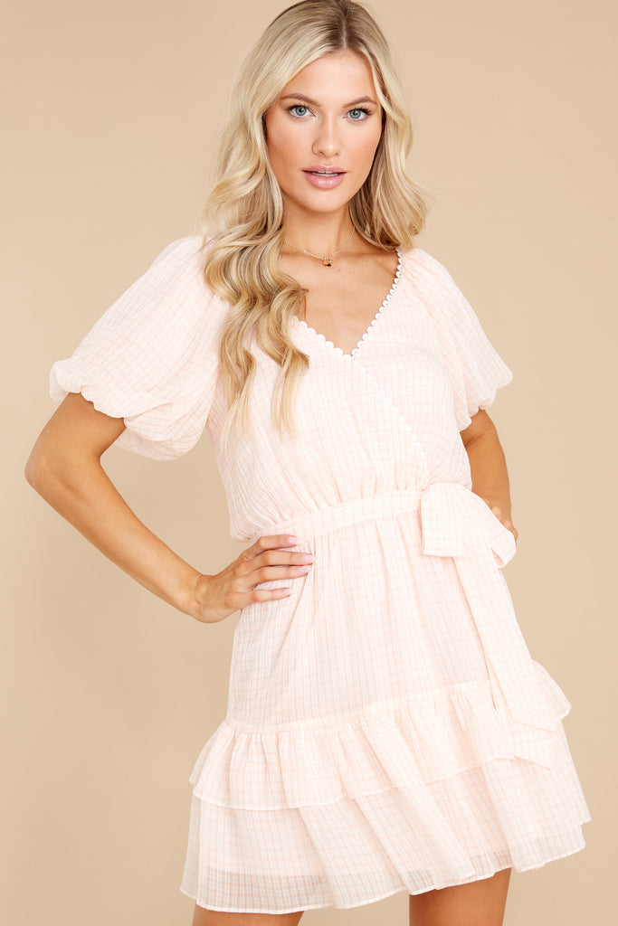 1 In Perfect Harmony Light Pink Dress at reddress.com