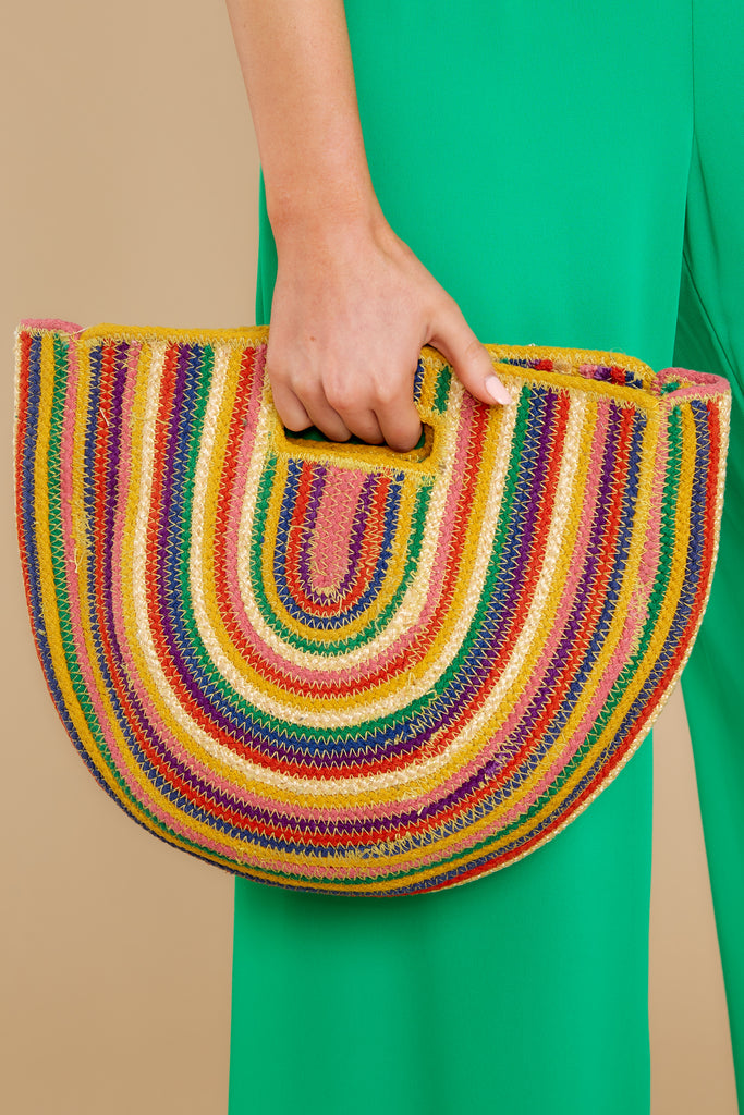 Promises Promises Rainbow Clutch