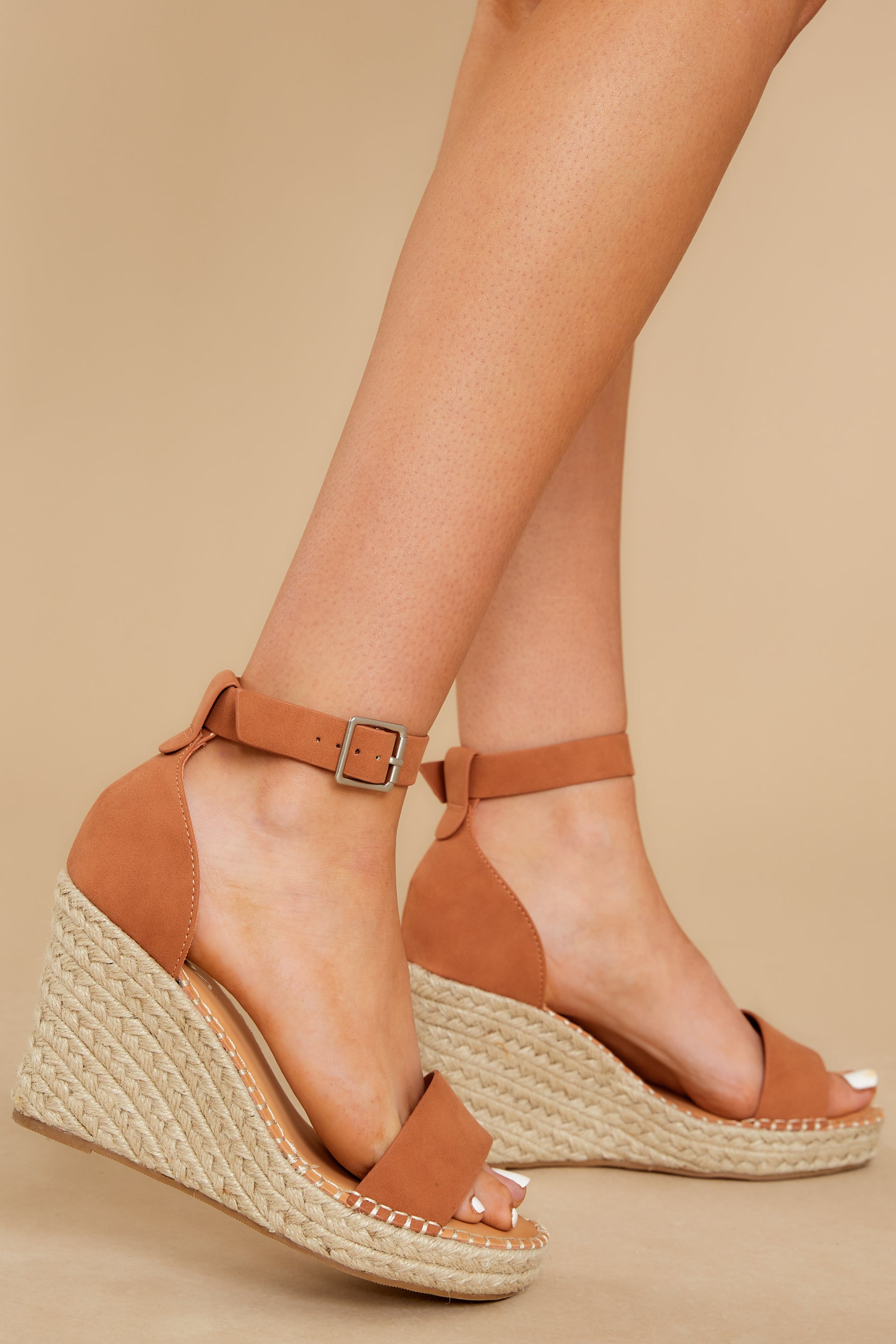 1 Note To Self Clay Platform Wedges at reddress.com