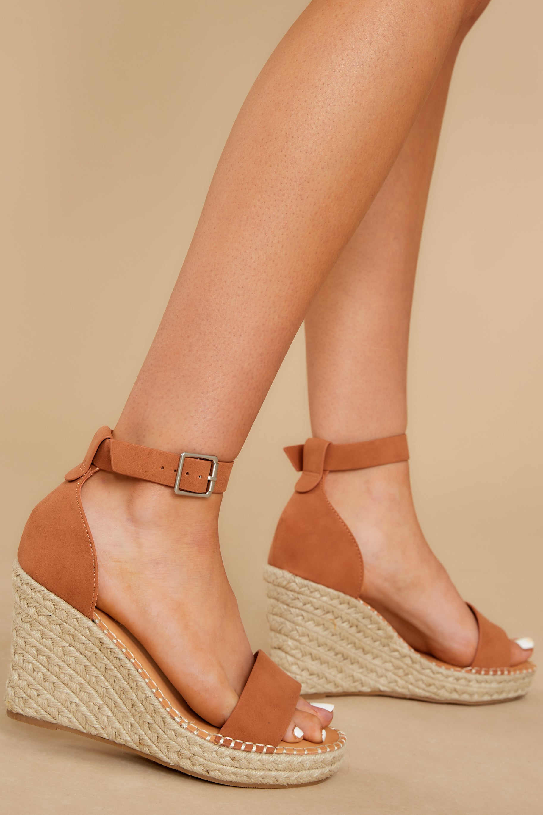 2 Note To Self Clay Platform Wedges @ reddress.com