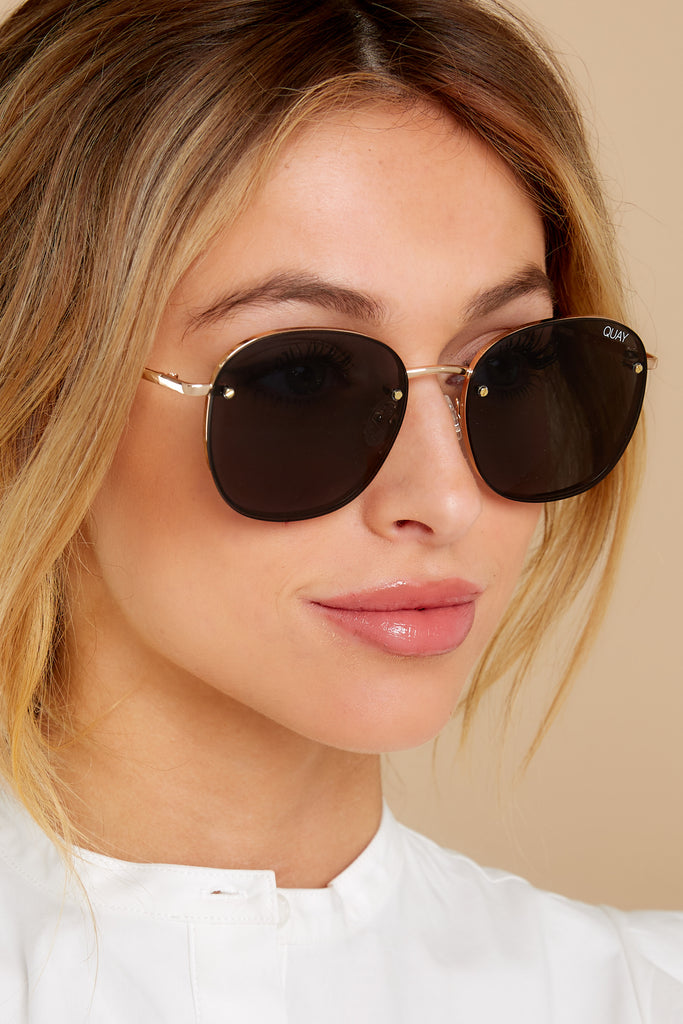 High Key Mini Black Silver Sunglasses