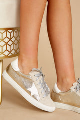 1 Getting Better Gold Sneakers at reddress.com