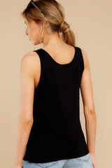 9 Got To Split Black Top at  reddress.com