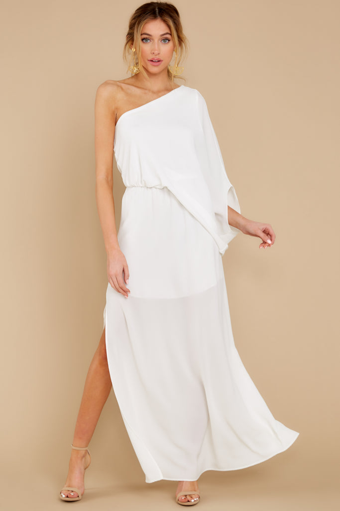 1 Ryan Dress In Ivory at reddress.com