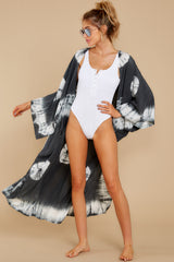 3 Focus On The Good Charcoal Tie Dye Kimono at reddress.com