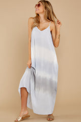 5 All My Love Light Blue Multi Maxi Dress at reddress.com