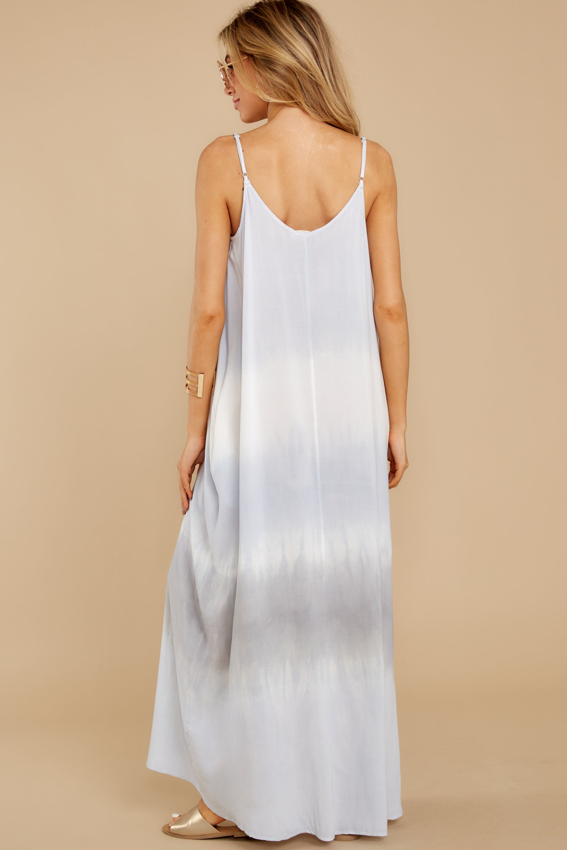 8 All My Love Light Blue Multi Maxi Dress at reddress.com