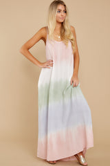 5 All My Love Blush Pink Multi Maxi Dress at reddress.com