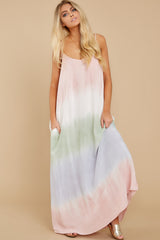 7 All My Love Blush Pink Multi Maxi Dress at reddress.com