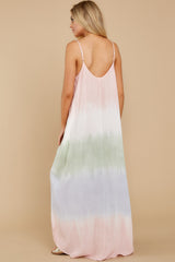 8 All My Love Blush Pink Multi Maxi Dress at reddress.com