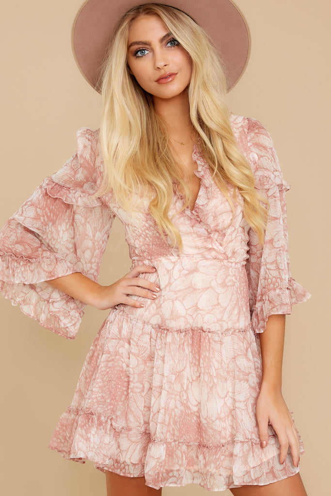 1 A Little Diddy Porcelain Rose Romper at reddress.com