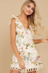 5 Looking For The One Floral Eyelet Dress at reddress.com