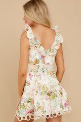 7 Looking For The One Floral Eyelet Dress at reddress.com