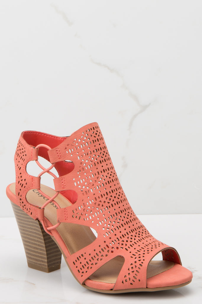 1 Just Kickin' It Pink Heels at reddressboutique.com
