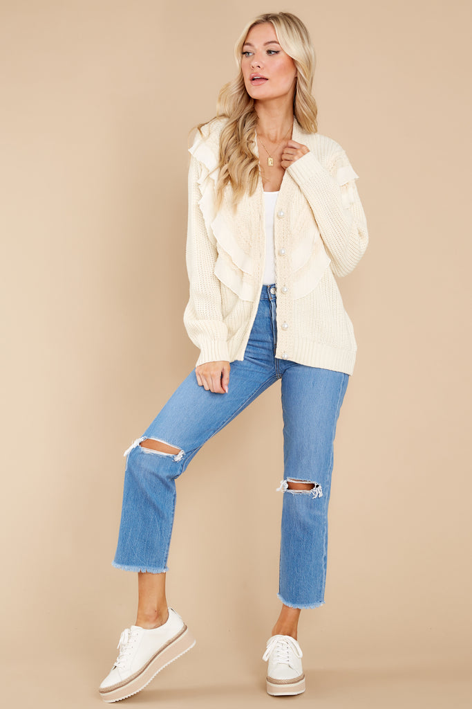 1 Sweet Harmony Cream Cardigan at reddress.com