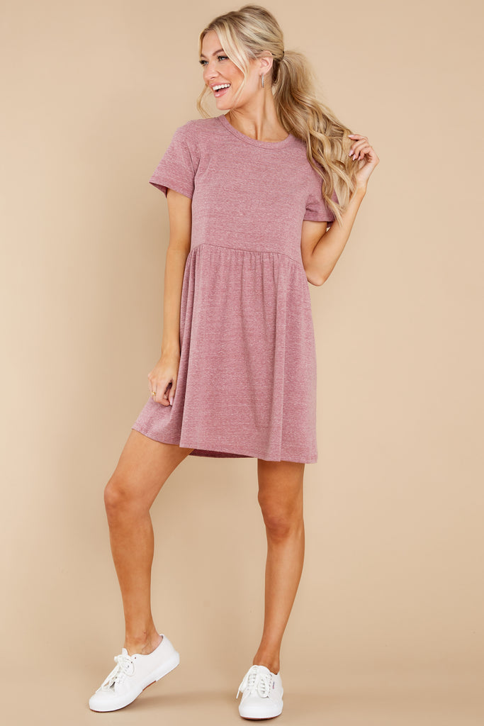 1 Come Away With Me Mauve Blush Midi Dress at reddress.com