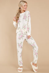 1 Elle Bone Floral Top at reddress.com