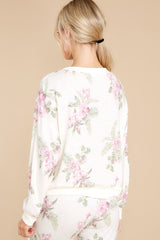 10 Elle Bone Floral Top at reddress.com