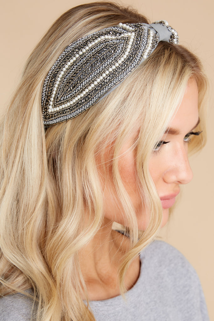 1 Far From Over Beige Headband at reddress.com