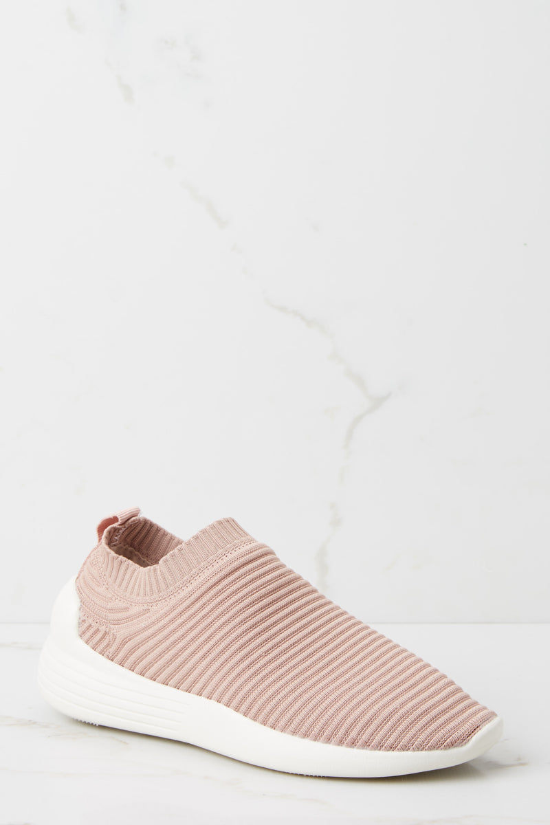 4 3Easy Go Mauve Pink Slip On Sneakers at reddressboutique.com