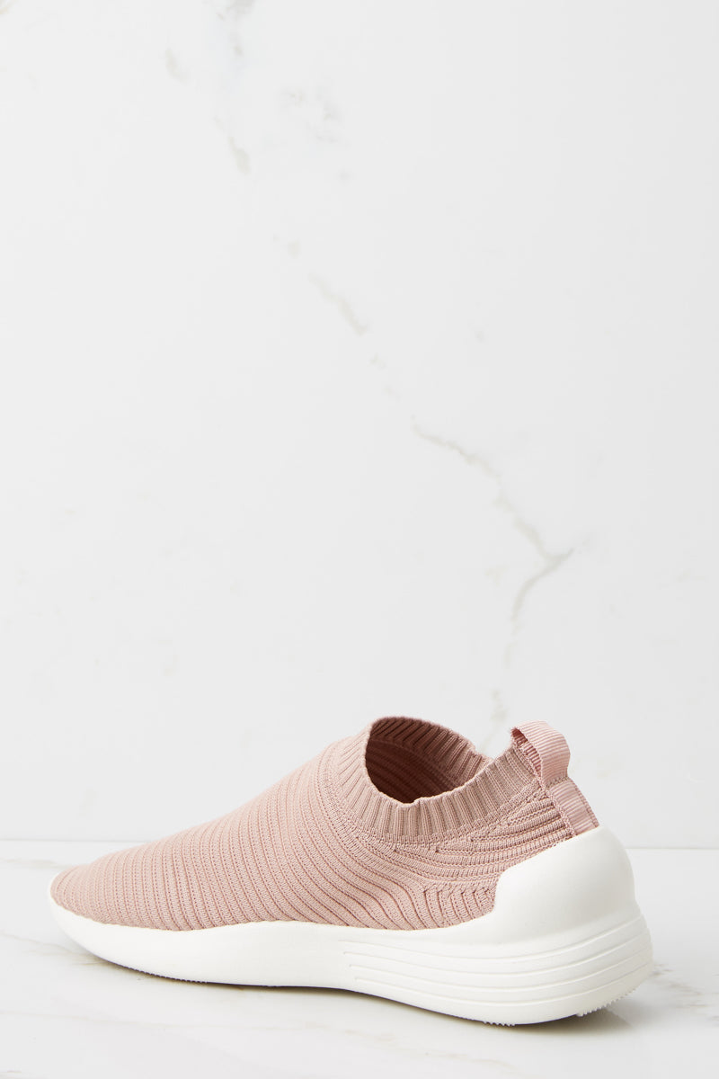 1 Easy Go Mauve Pink Slip On Sneakers at reddressboutique.com