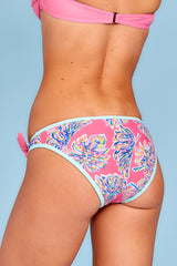5 Life On The Shore Pink Multi Bikini Bottoms at reddress.com