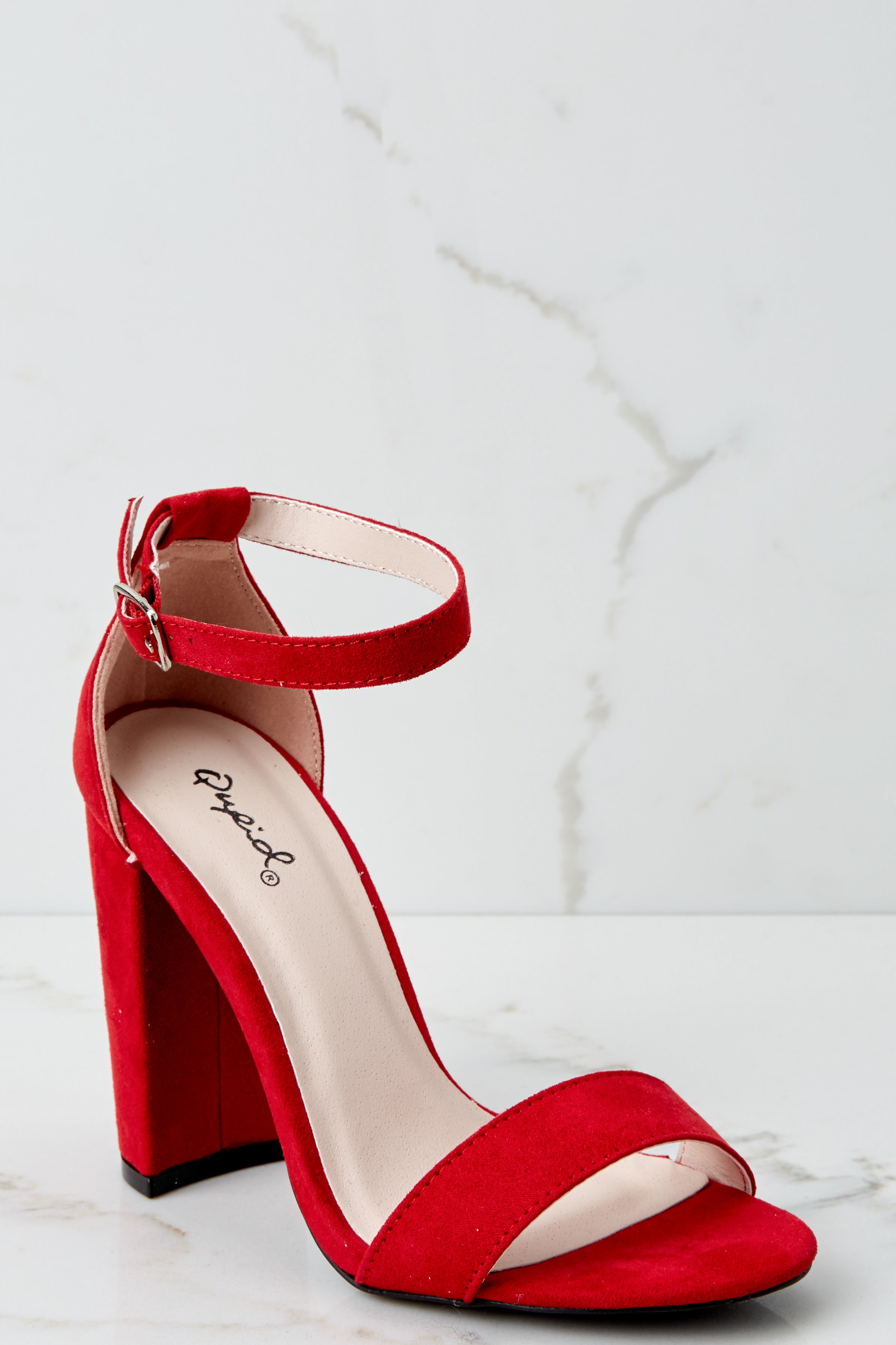 e846b163ae8 Sexy Red Heels - Ankle Strap Heels - High Heels -  32.00 – Red Dress