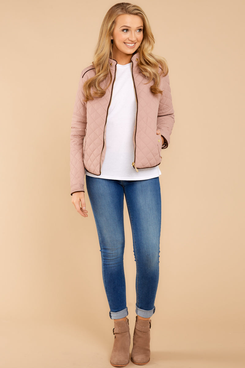 4 Feel The Chill Blush Pink Jacket at reddressboutique.com