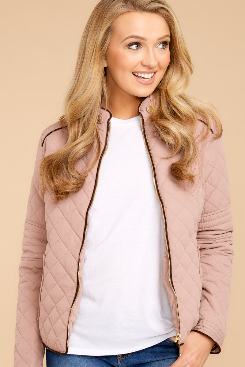 2 Feel The Chill Blush Pink Jacket at reddressboutique.com