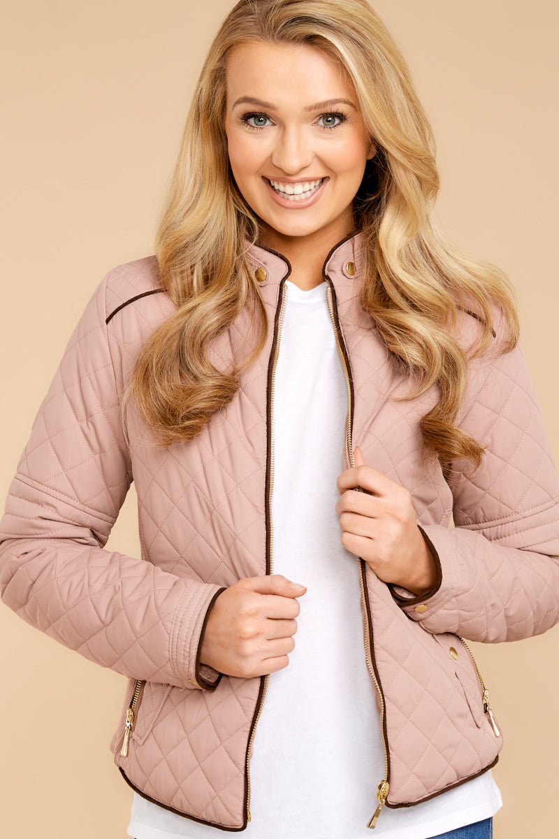 3 Feel The Chill Blush Pink Jacket at reddressboutique.com