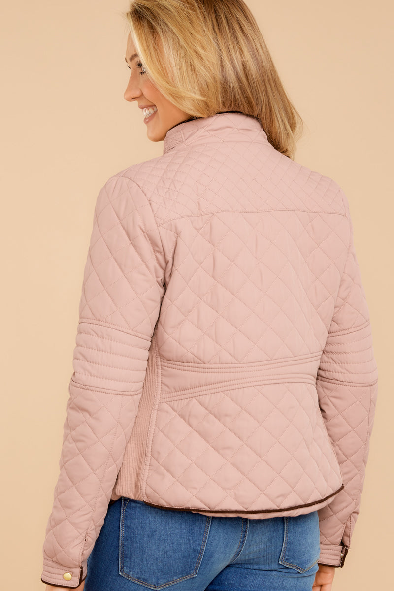 6 Feel The Chill Blush Pink Jacket at reddressboutique.com