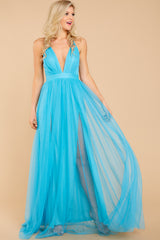 6 Ever After Matters Of The Heart Island Blue Maxi Dress at reddressboutique.com