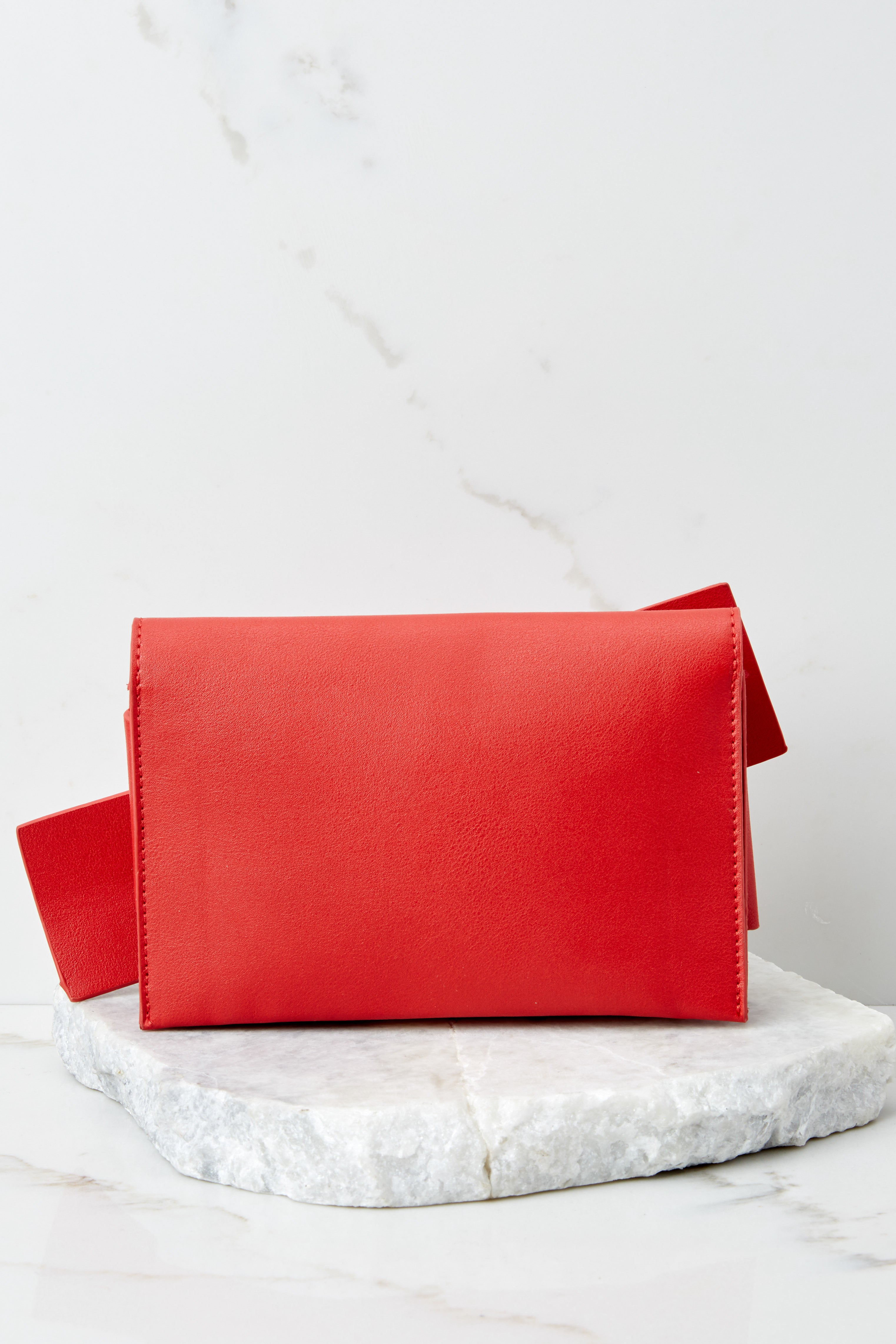 5 Make It Even Red Clutch, at reddress.com