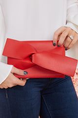 2 Make It Even Red Clutch, at reddress.com