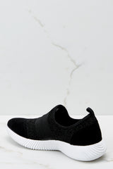 3 Future Favorite Black Sneakers at reddressboutique.com