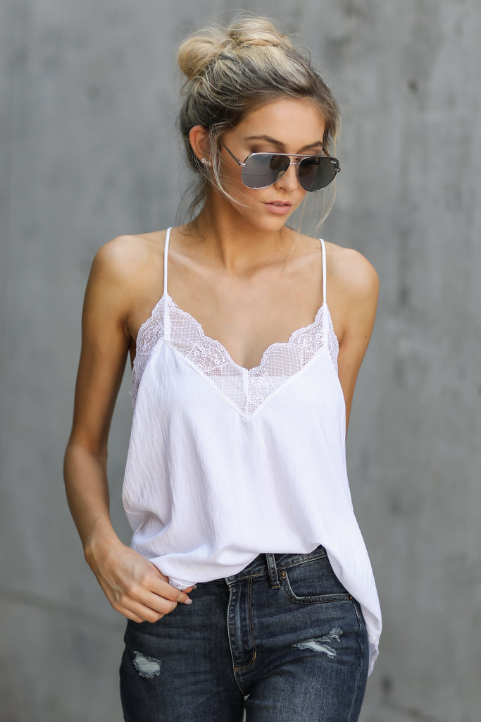 6 Anything For This White Top at reddressboutique.com