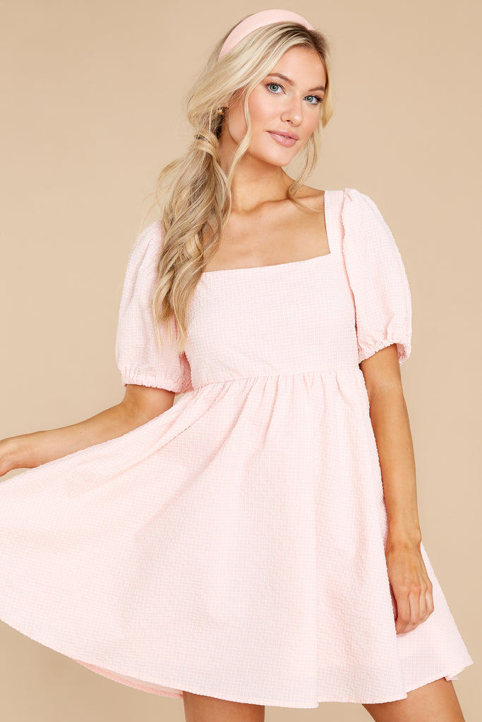 1 One Kiss Away Blush Pink Dress at reddress.com