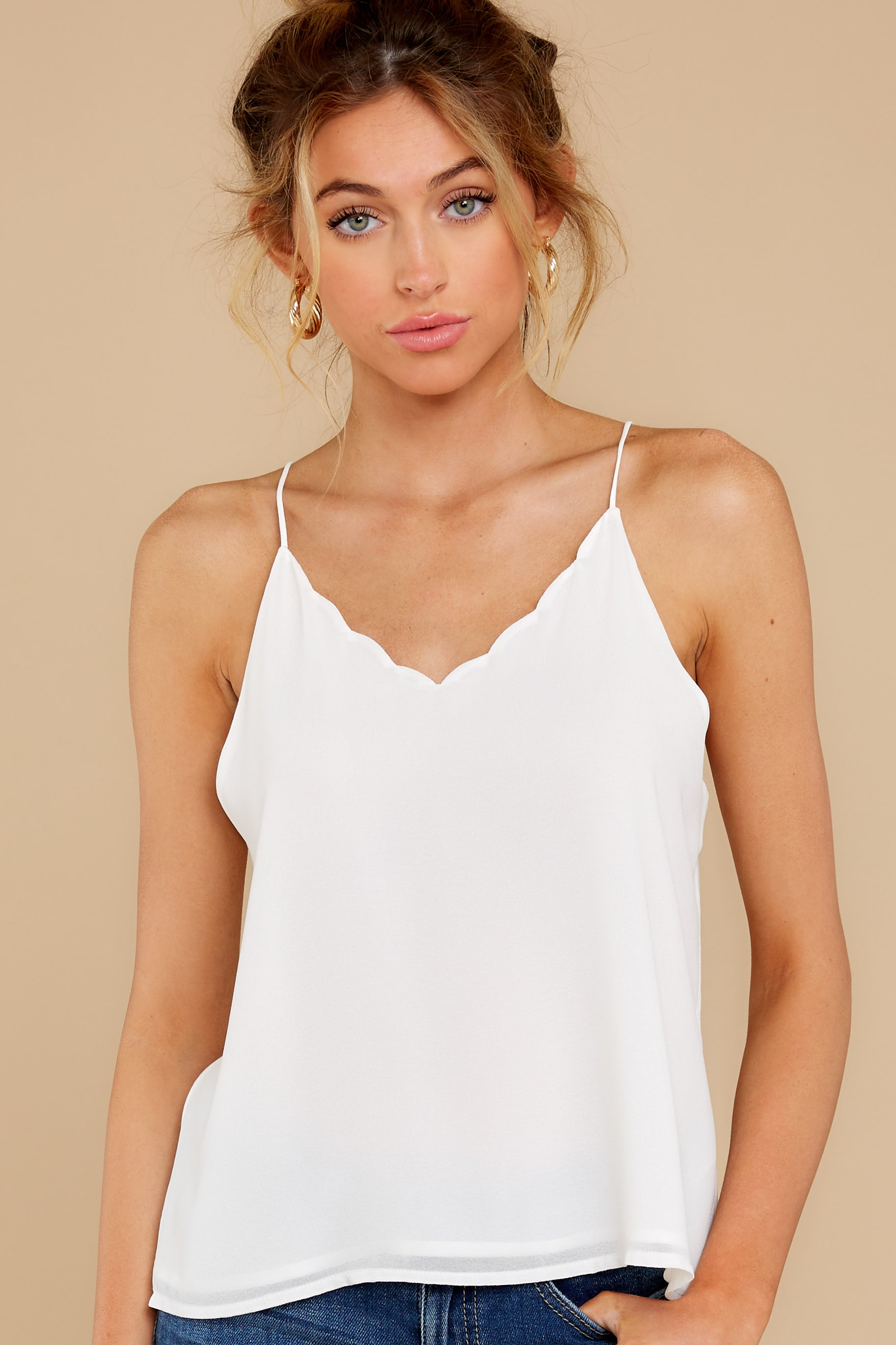 5 Believe It Or Not White Top at reddress.com