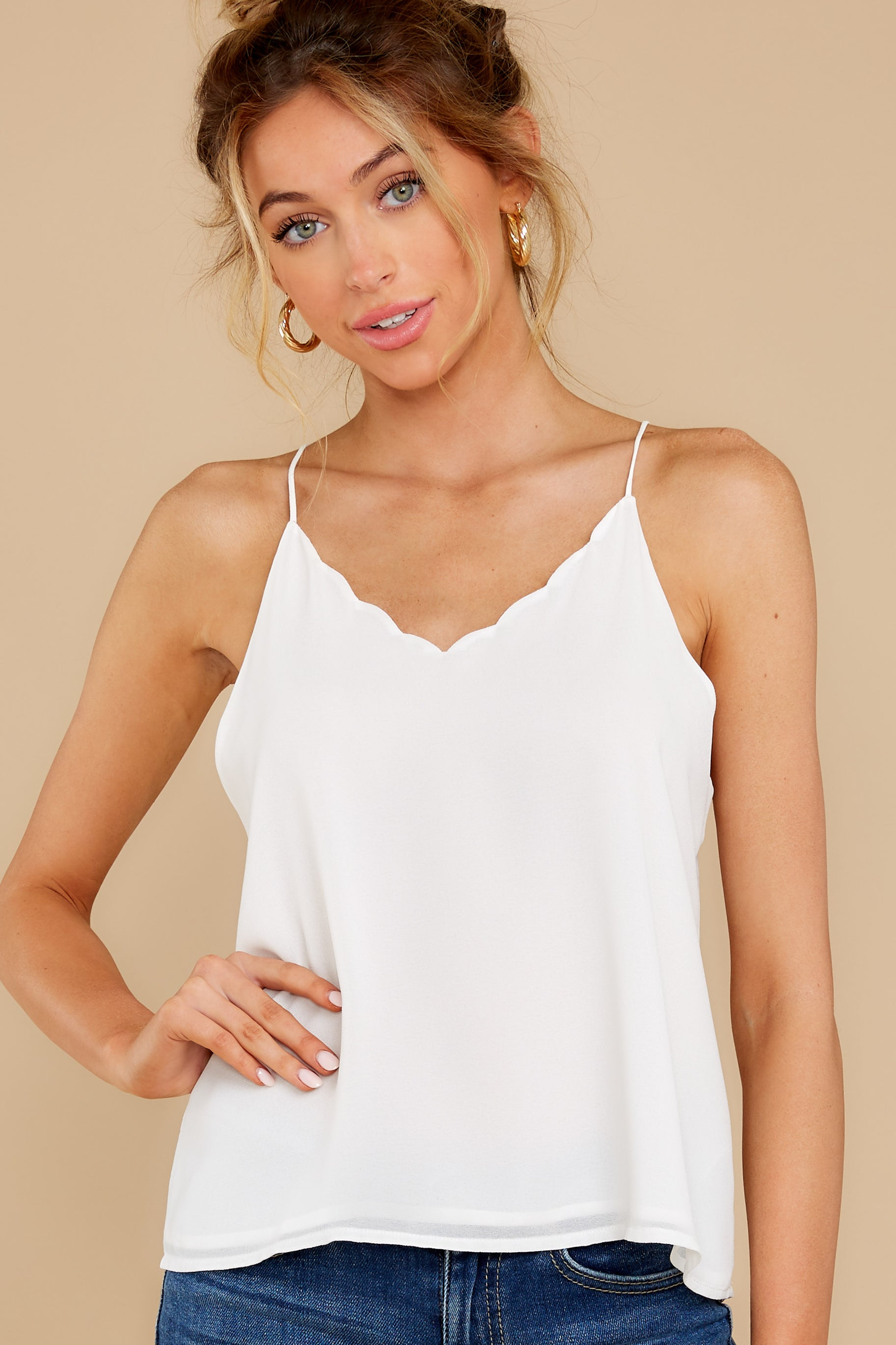 3 Believe It Or Not White Top at reddress.com