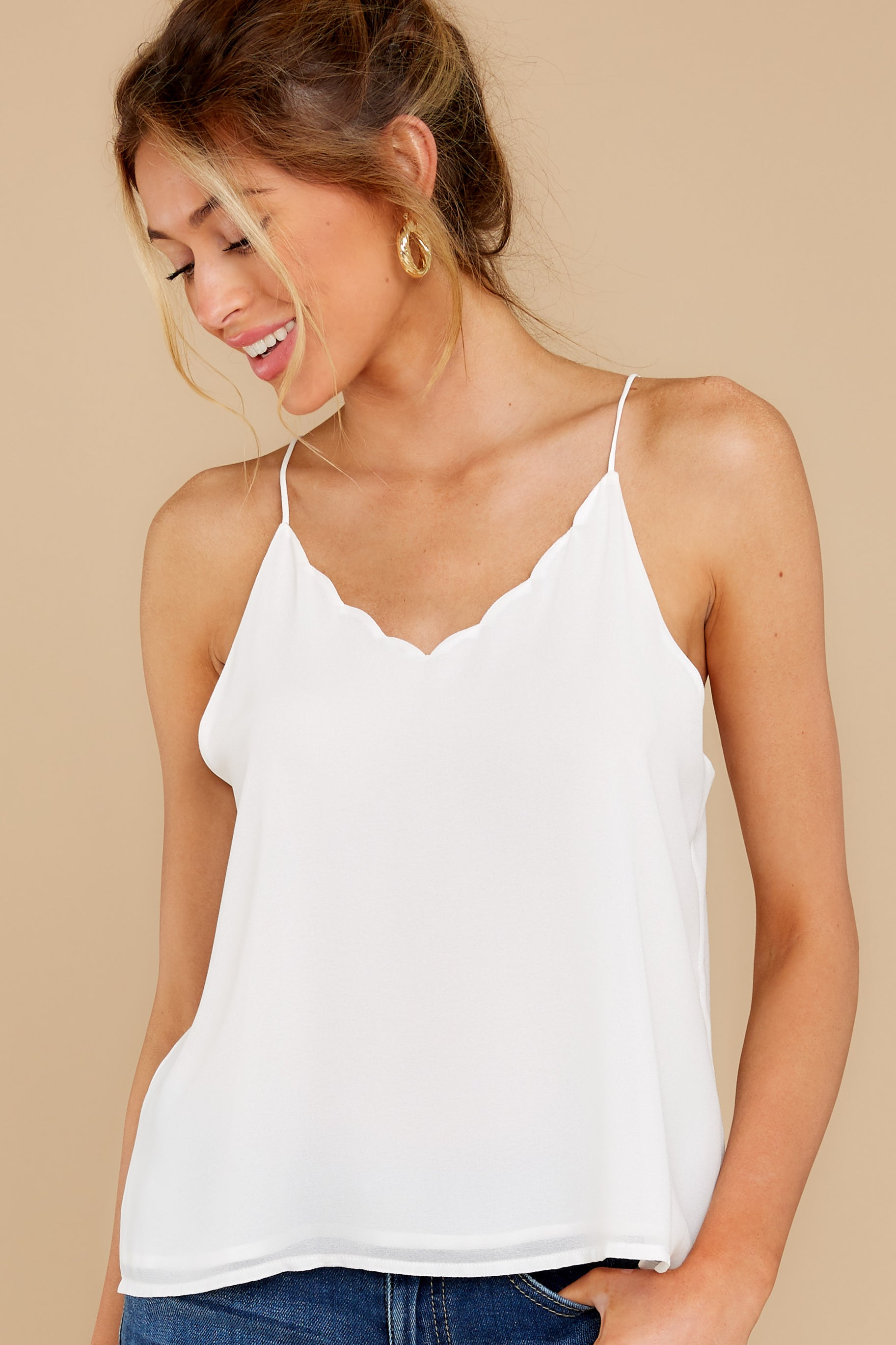 4 Believe It Or Not White Top at reddress.com