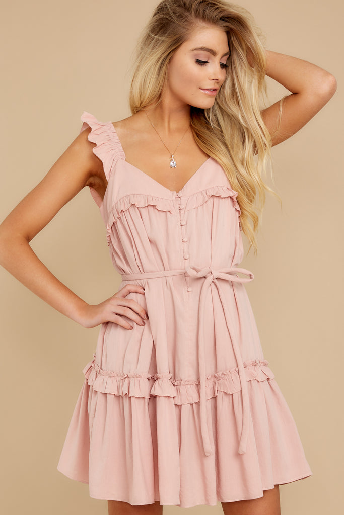 1 Take My Hand Light Pink Lace Dress at reddress.com