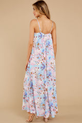 8 Shining Bright Pink Multi Maxi Dress at reddress.com