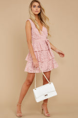 3 Take My Hand Light Pink Lace Dress at reddress.com
