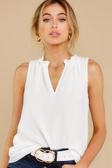 7 In Your Best Interest Off White Top at reddress.com