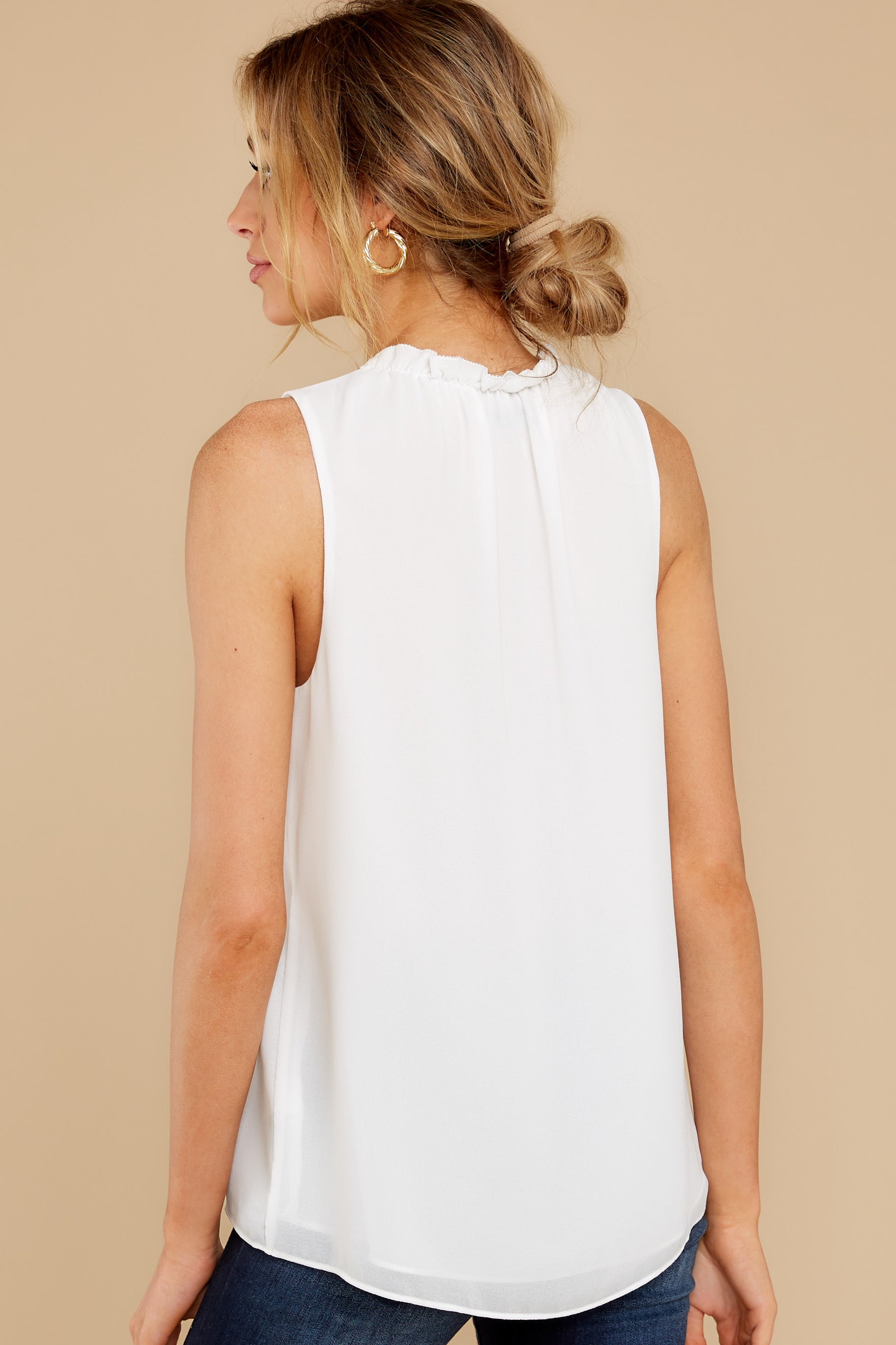 8 In Your Best Interest Off White Top at reddress.com